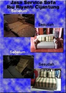 Service Perbaikan Sofa Ibu Rianti Cijantung