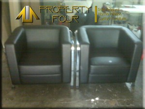 sofa 1 dudukan setelah diservice